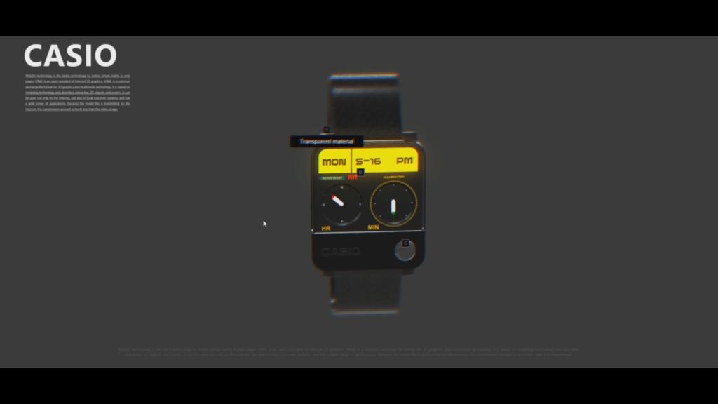 VR展示-概念手表